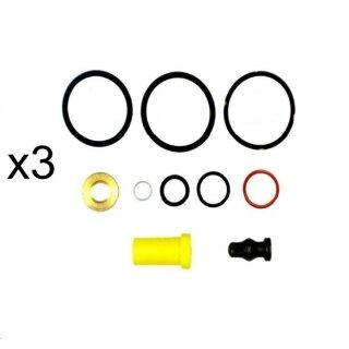 5 x Bosch 1417010997 Dichtungssatz Pumpe Düse Element VW 038198051B
